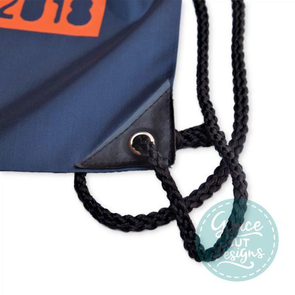 Personalised Drawstring Bags - Hashtag Design