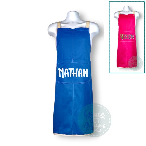 Personalised Name Apron