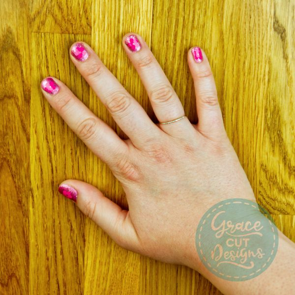 Nature Nail Decals - Flowers/ Palm Trees
