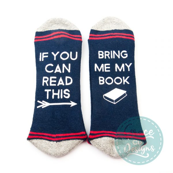 If you can read this... Socks