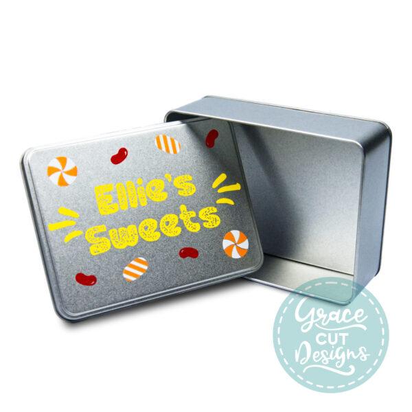 Personalised Sweet Treats Tin