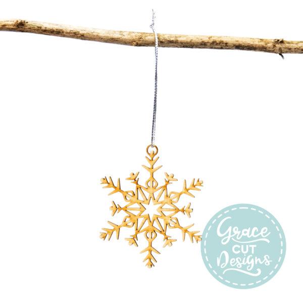 Christmas Snowflake Decoration